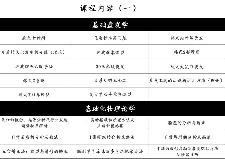 杭州化妆全能培训-杭州艾尼斯化妆全能培训
